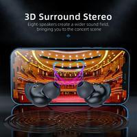 T24/T22 TWS Kopfhörer Bluetooth 5,0 Wasserdicht Stereo Surround Sound Headset Ohrhörer In-Ohr Freihändiger Ohr Knospen Mit mic
