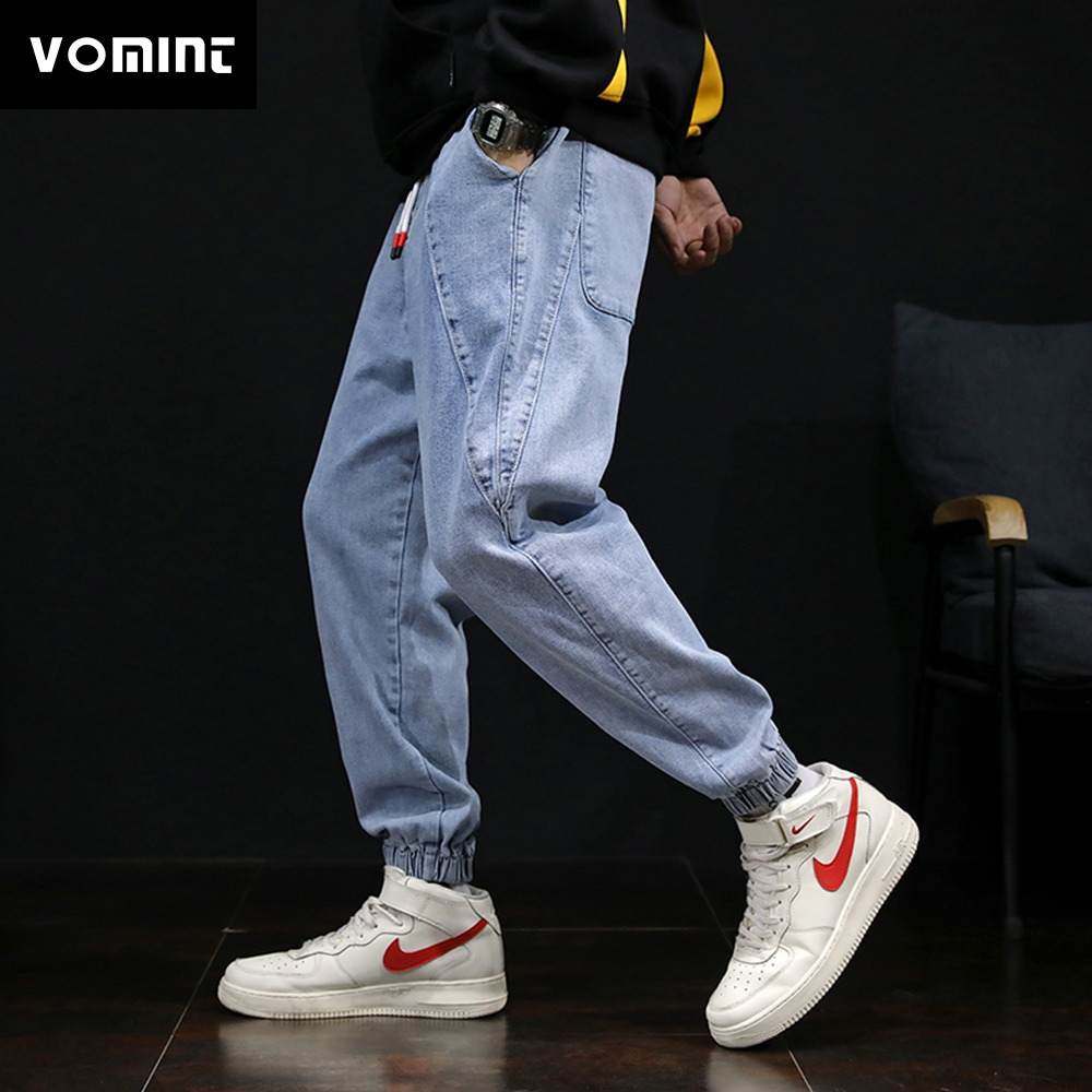 VOMINT Mens Jeans Fashion Hip Hop Jeans Pants Casual Design Streetwear