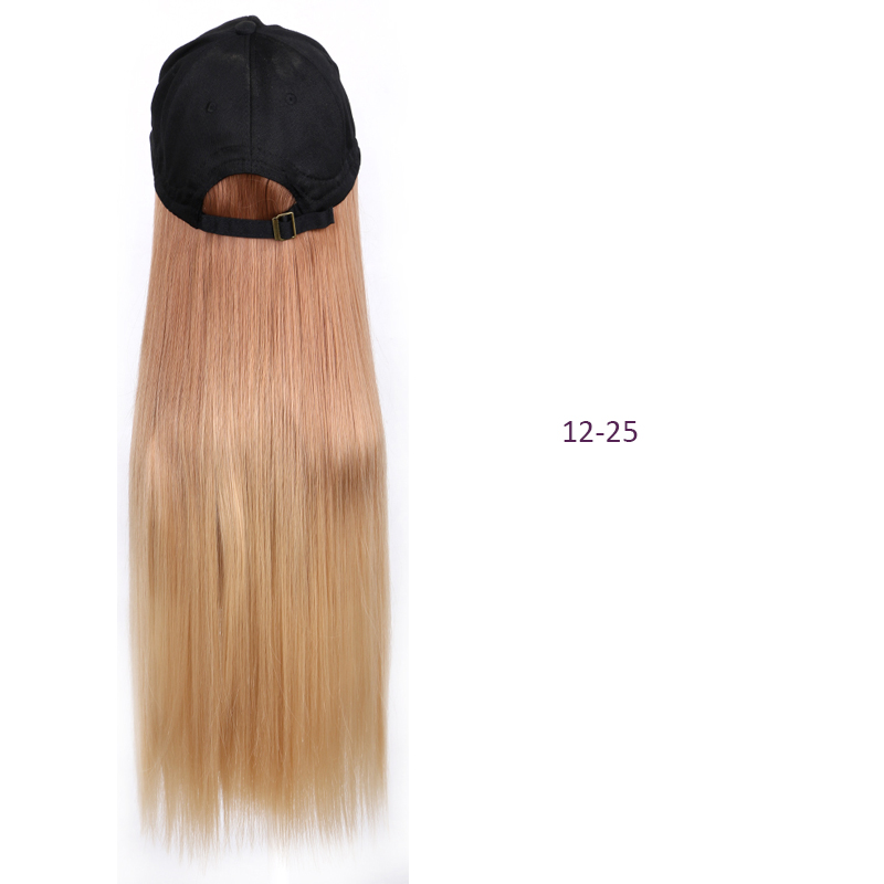 de cabelo sintético com chapéu estilo quente