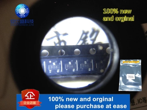 50pcs 100% New And Orginal 2SC2223 Silk-screen F14 SOT23 High Frequency Triode In Stock