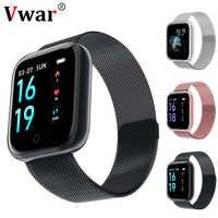 Astuto della vigilanza Vwar P68 P70 Plus Inseguitore di Fitness Heart Rate Monitor di Pressione Sanguigna Degli Uomini Delle Donne Orologio Smartwatch Per Android Apple IOS