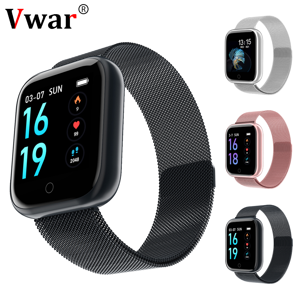Smart watch Vwar P68 <font><b>P70</b></font> Plus Fitness Tracker Heart Rate Monitor Blood Pressure Women Men Clock <font><b>Smartwatch</b></font> For Android Apple IOS image