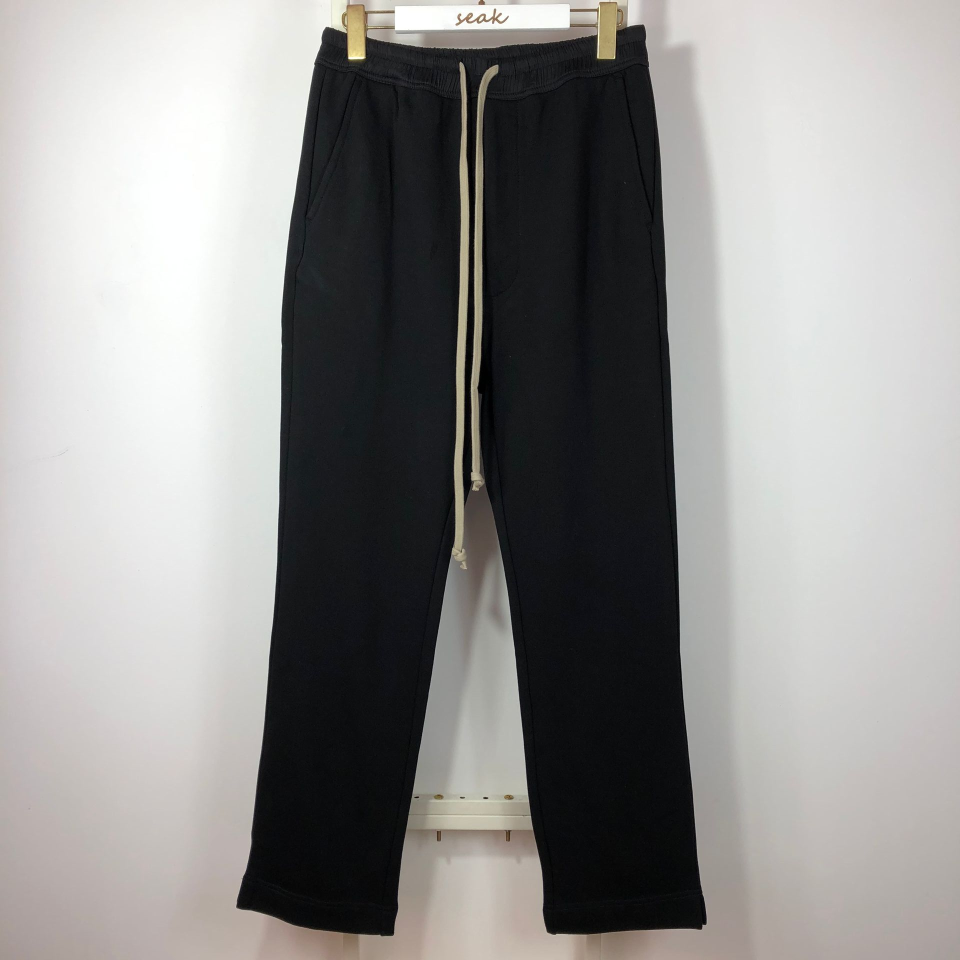 Owen Seak Men Casual Cross Pants Gothic Length Cargo Men's Clothing Sweatpants Autumn Winter Women Harem Black Long  Pants