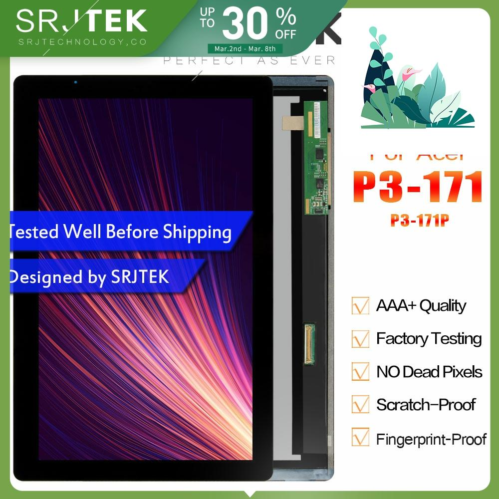SRJTEK 11.6 Display For Acer Aspire P3-171 P3-171P LCD Display Matrix Touch Screen Digitizer Assembly 1366*768 Replacement Parts
