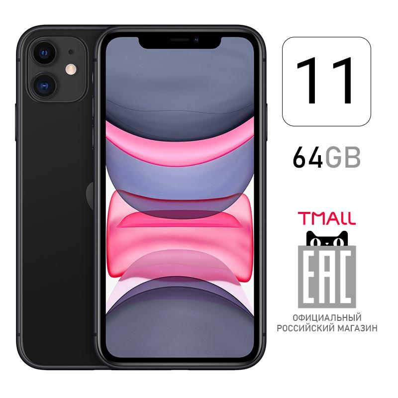 Смартфон Apple iPhone 11 64ГБ [ российский магазин Tmall, гарантия производителя, доставка из Москвы от 1 дня ]