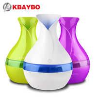 KBAYBO diffuseur d'huile essentielle d'arôme électrique 300ml USB Mini humidificateur d'air à ultrasons aromathérapie brumisateur pour bureau à domicile