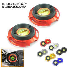 2 PCS Engine Stator Protection Cover Slider For YAMAHA TMAX 530 2018 2017 Accessories T MAX T-MAX TMAX530 Parts