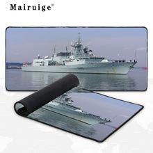 Mairuige warship корабль игровой коврик для мыши большой аксессуары