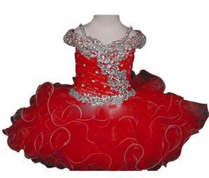 Image 5 - Новинка, рождественское платье для первого причастия, платье для младенцев, платье для детского карнавала, платье для папы и танцев, платье с цветами для девочек на Хэллоуин