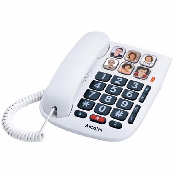 Di rete fissa per gli Anziani Alcatel TMAX 10 LED Bianco