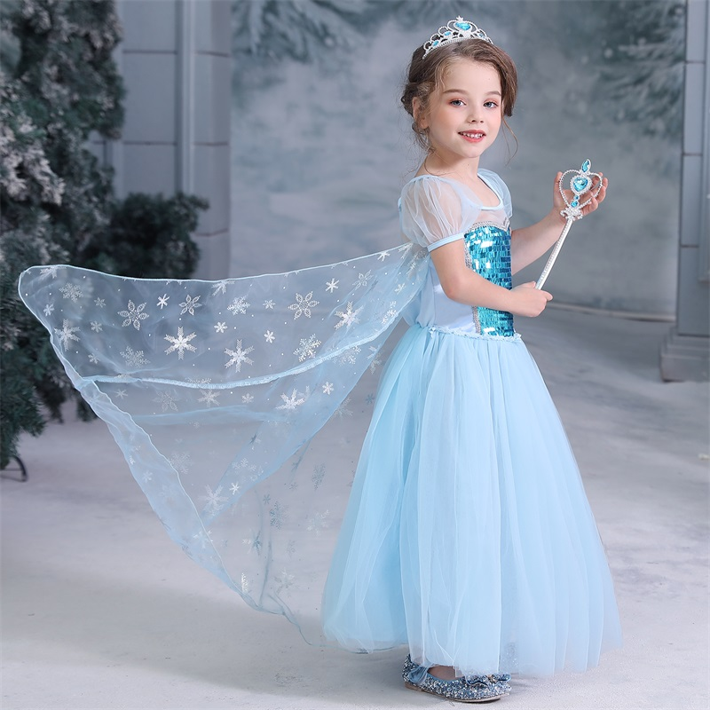 Fancy Girl Dress Cosplay Costume For Kids Dresses Princess Carnival Birthday Party Wear Baby Clothes Teens Chidren Clothing 9