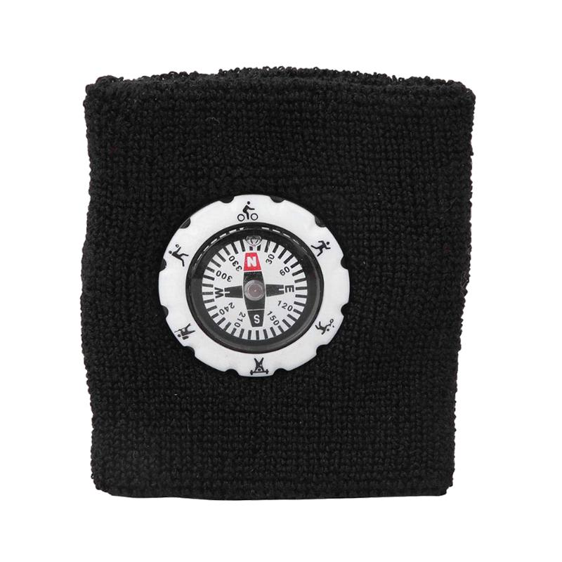 Durable Compass Fashion Sweat Band / Survival Wristband Bracelet for Outdoor Camping/Hunting/Hiking 5