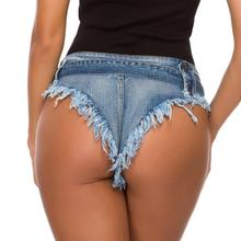 TASTIEN Newest Fashion Women Sexy Shorts Jeans Super Mini Hot Cotton Summer Booty Ladies Charming Club Party Girls