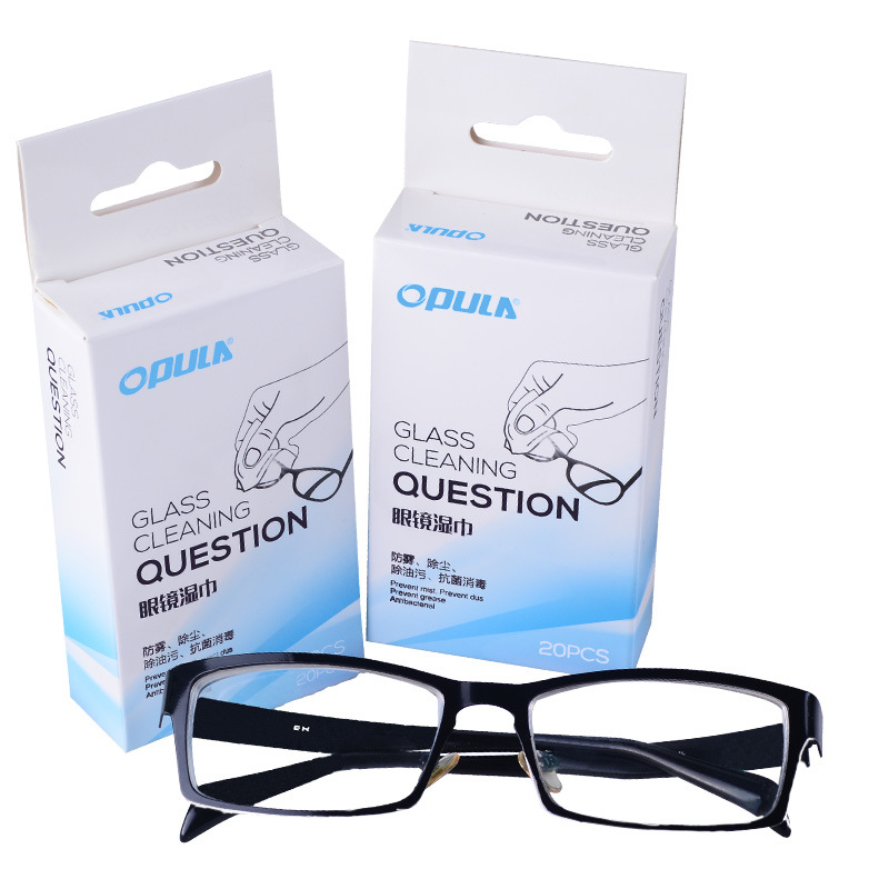 Manufacturers Wholesale Screen Wipe Wet Wipe Sun Glasses Disposable Wipe Wet Wipe 3D Glasses Disinfection Cotton Sheets