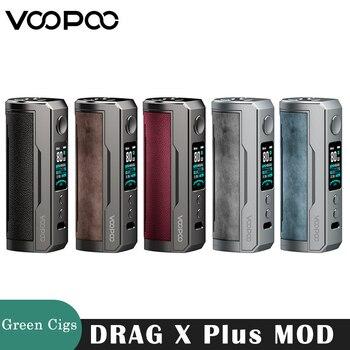 VOOPOO DRAG X Plus – Cigarette électronique avec boîte de 100W, modèle Original pour vapoteur TPP Pnp Pod Tank