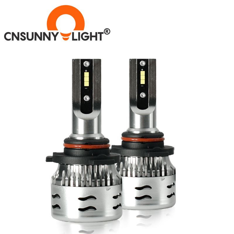 CNSUNNYLIGHT 9005 LED Car Headlight Bulbs Turbo Led Lamps 60W 12000Lm/Pair CSP Headlamp Light Bulbs For Car Styling Accessories Car Headlight Bulbs(LED)  - AliExpress