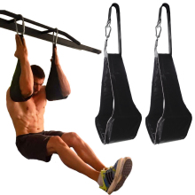 Фитнес AB слинг ремни подвеска Rip-устойчивая сверхмощная пара для подтягивания бар подвешивания ног рейзер домашний тренажерный зал фитнес оборудование