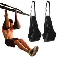 Fitness AB Schlinge Riemen Suspension Rip-Beständig Heavy Duty Paar für Pull Up Bar Hängen Bein Raiser Home Gym fitness Ausrüstung