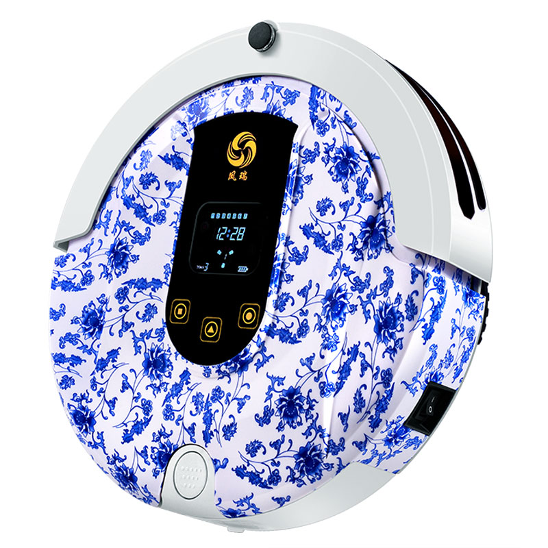 Bluetooth Mini Robotic Vacuum Cleaner for Home Wireless Appliances