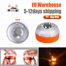 Car Flashlights Emergency Light Beacon Light Road Rescue Lamps Rechargeable Magnetic Induction Strobe Light v16 Homologated dgt