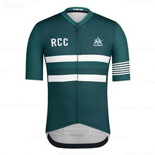 2020 Men's Clothes Wear Better RCC Rainbow Pro Team Areo Cycling Jersey Short Sleeve Bicycle Clothes Summer MTB Road Bike Shirt