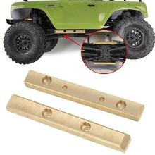 2021 NEW 2Pcs RC Remote Control Car Brass Boulder Bars For 1/24 Axial SCX24 90081 Upgrade Replacement Accessories Tools