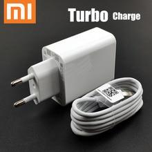 Orijinal ab xiaomi turbo şarj cihazı 27W QC 4.0 hızlı şarj adaptörü usb c tipi kablo mi 9 se 9t cc9 redmi note 7 8 K20 Pro mi x 4