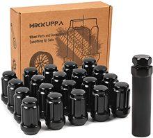 M12x1.5 LUG NUTS สำหรับ Chevy Impala/ Honda Accord/CRV/Civic/PILOT ล้อหลังการขาย 20pcs ปิด end LUG Nuts