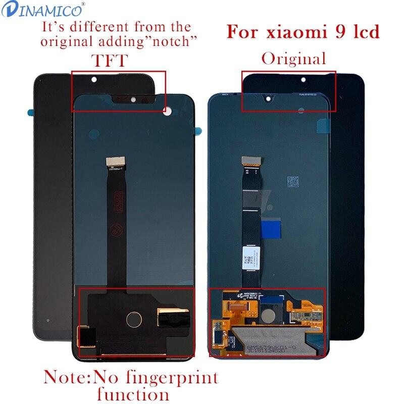 Dina mi co 6.39 pouces mi 9 affichage pour Xiao mi 9 LCD mi 9 affichage écran tactile numériseur assemblée 5.97 pouces mi 9 SE Lcd livraison gratuite