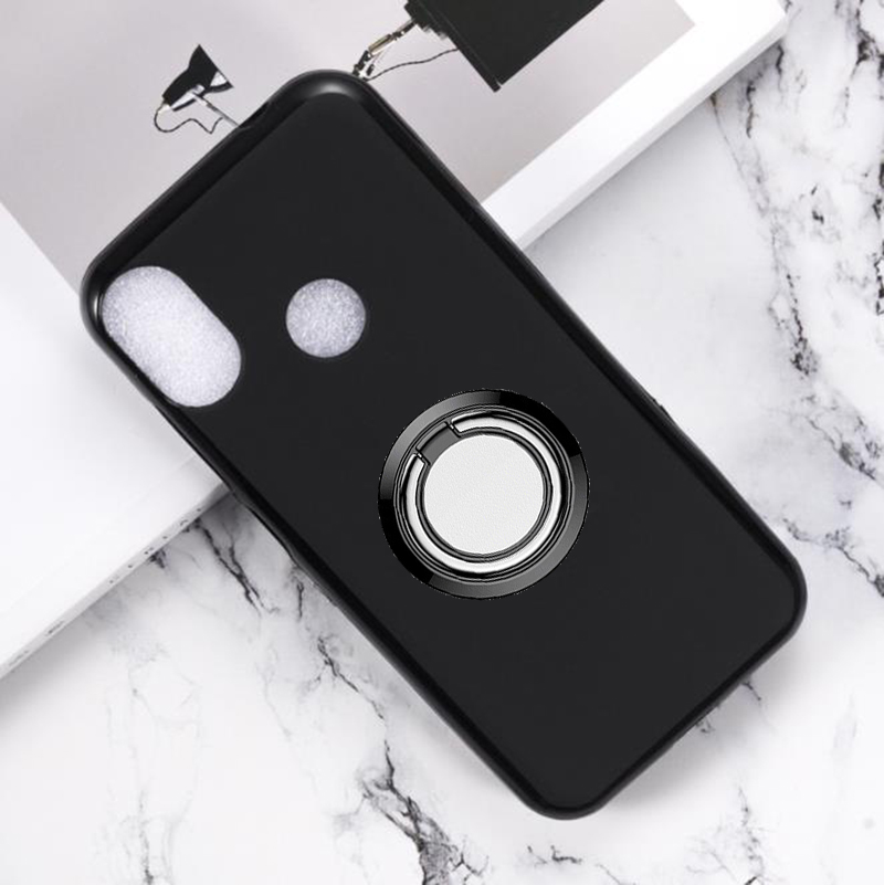 for <font><b>Doogee</b></font> <font><b>X70</b></font> Back Ring Holder Bracket Phone <font><b>Case</b></font> Cover Phone TPU Soft <font><b>Silicone</b></font> <font><b>Cases</b></font> for <font><b>Doogee</b></font> <font><b>X70</b></font> 5.5