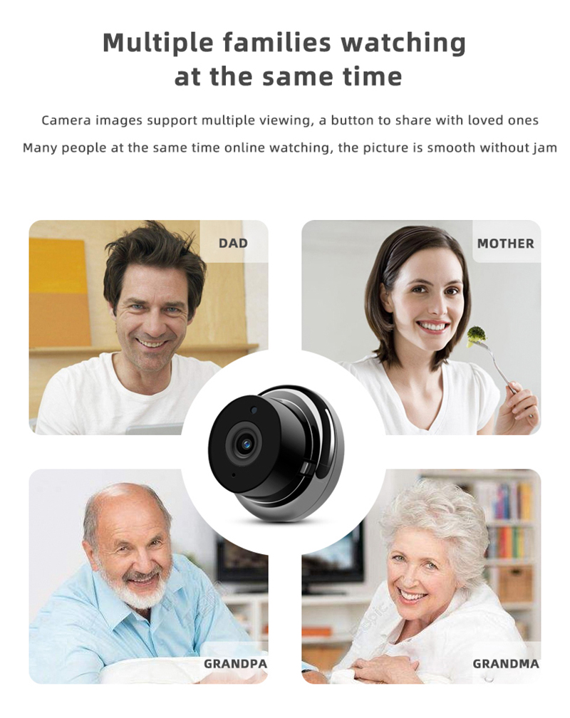 1080P Wireless Mini Camera With Night Vision And Fully Functional Security camera 14