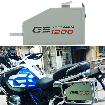 For BMW R1200GS LC Adventure R 1200 GS 2013 2014 2015 2016-2019 Tool Box Decorative Liters Box Toolbox On The Left Side Bracket for bmw r1200gs lc adventure tool box decorative box toolbox 5 liter for left side bracket r1200 gs gsa 2014 2015 2016 2017 2108
