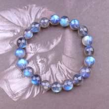 Женский браслет ручной работы из натурального драгоценного камня