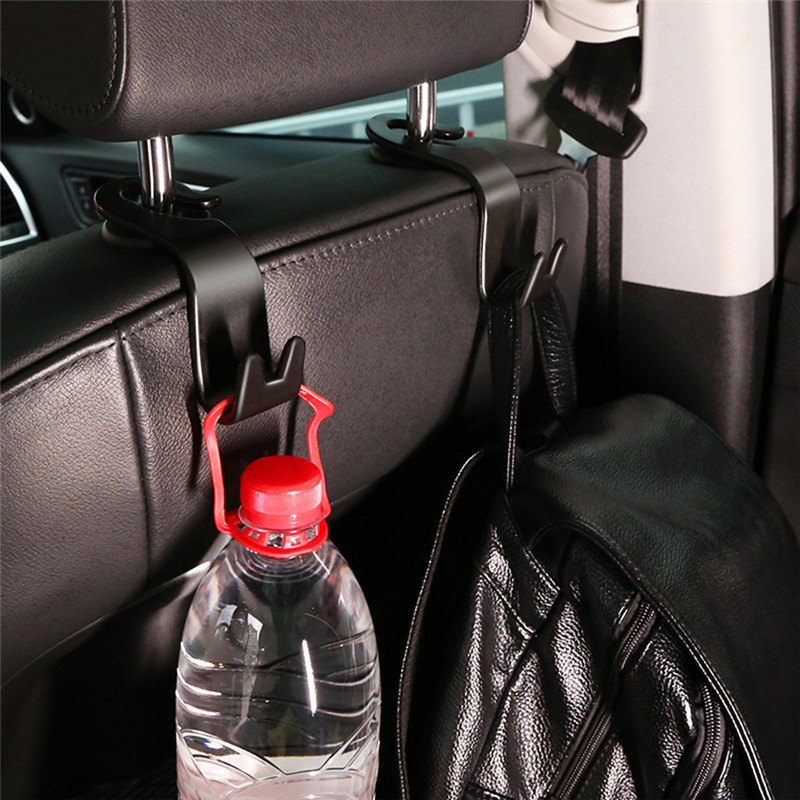 20kg Load-bearing Universal Car Rear Back Seat Hooks Organizer Hanger for Bag Cloth Car Accessories Interior Auto Products(China)