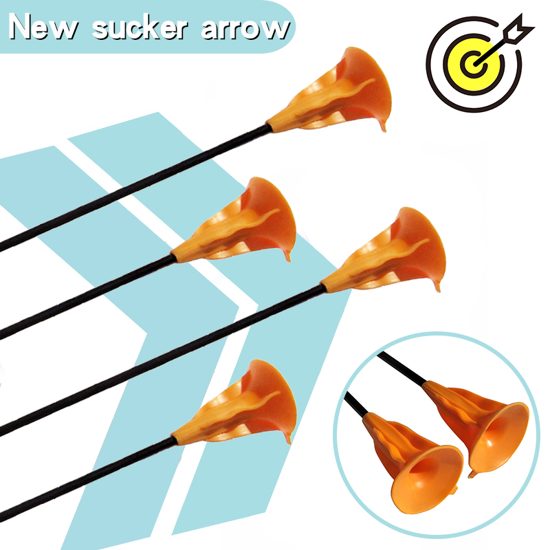 Children Sucker Arrows for Archery Bow Youth Outdoor Sports shooting Game Suction Toy Gift Cup Arrows Practice Archery bow|Bow & Arrow| |  - title=