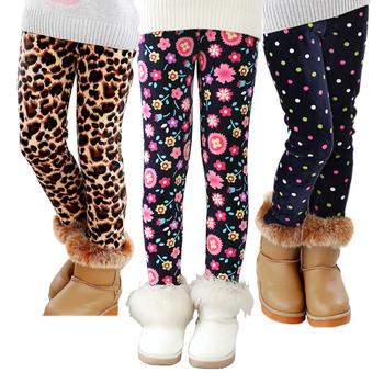 VEENIBEAR jesień zima dziewczyny spodnie aksamitne zagęścić ciepłe dziewczyny legginsy dzieci spodnie dla dzieci dziewczyny odzież na zimę 2-7T tanie i dobre opinie spandex CASHMERE Stretch Spandex Wiskoza CN (pochodzenie) REGULAR Plisowana PATTERN Wstążki NONE Myte Pełnej długości