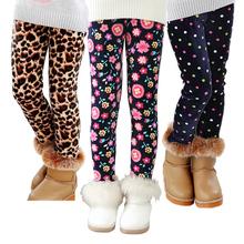 VEENIBEAR jesień zima dziewczyny spodnie aksamitne zagęścić ciepłe dziewczyny legginsy dzieci spodnie dla dzieci dziewczyny odzież na zimę 2-7T tanie tanio spandex CASHMERE Stretch Spandex Wiskoza CN (pochodzenie) REGULAR Plisowana PATTERN Wstążki NONE Myte Pełnej długości