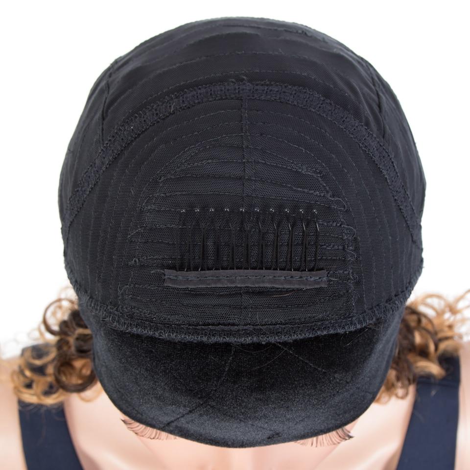destaque profunda encaracolado cabelo cachecol peruca um livre bandana