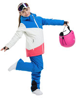 SAENSHING children skiing suit snowboarding pants with straps kids waterproof Snow Skiing Jackets snow boarding trouseres suit