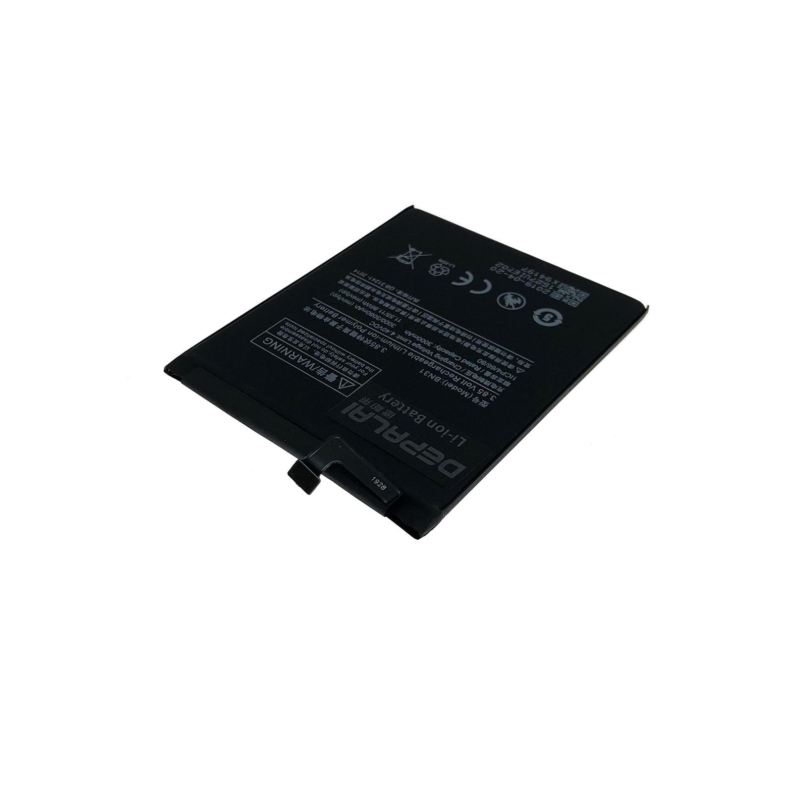 3080mAh BN31 Battery With Temperature Sensor For Xiaomi Mi 5X Mi5X \ Redmi Note 5A 5A Pro