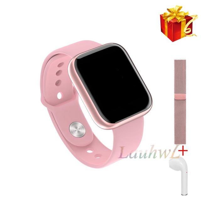 Femmes IP68 étanche montre intelligente P70 P68 Bluetooth 4.0 Smartwatch pour moniteur de fréquence cardiaque Fitness Tracker