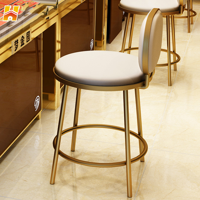 Jewelry Store Special-purpose Chair Counter Chair Stool Bar Counter Stool Household Reception Reception Chair Cashier Concise