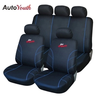 AUTOYOUTH Car Seat Covers Full Set Universal Seat Protector For skoda rapid peugeot 206 camry 40 skoda octavia a5 chrysler 300c