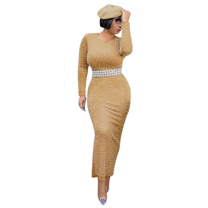 African Dresses For Women Beading Dashiki Summer Plus Size Dress Ladies Traditional African Clothing Fairy Dreams