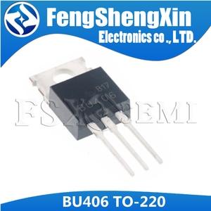 Image 5 - 10 шт./лот Новый коммутационный транзистор BU406 TO 220 SILICON NPN