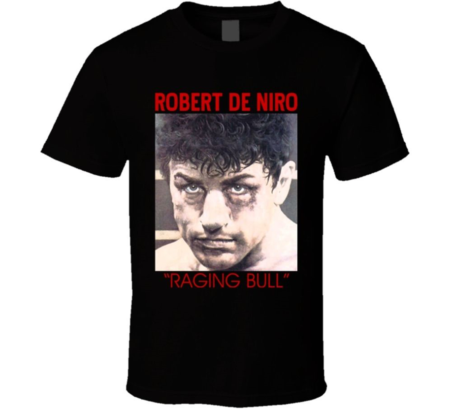 Raging Bull De Niro Boxing Movie Classic T Shirt Full-Figured Tee Shirt image