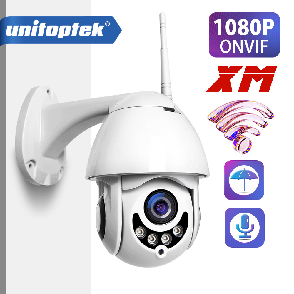 1080P PTZ IP Camera Wifi Outdoor Speed Dome CCTV Security Wireless Camera ONVIF 2MP IR Home Surveillance Cameras P2P XMEye