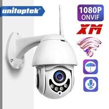 1080P PTZ Speed Dome CCTV Segurança Câmera IP Wi fi Ao Ar Livre Câmera Sem Fio ONVIF P2P 2MP IR Câmeras de Vigilância Em Casa XMEye