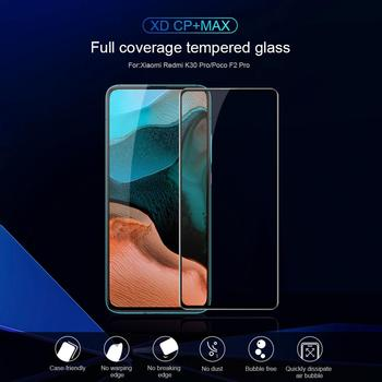 for Xiaomi POCO F2 Pro Tempered Glass NILLKIN XD CP+ MAX Curved Protective Screen Protector Glass for Xiaomi PocoPhone F2 Pro