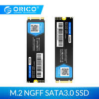 ORICO M.2 SATA SSD 128GB 256GB 512GB 1TB M2 NGFF SSD M.2 2280 mm disco duro interno de estado sólido para ordenador portátil de escritorio